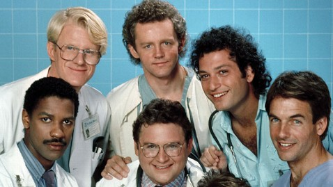 Cast of St. Elsewhere (NBC TV / The Kobal Collection)