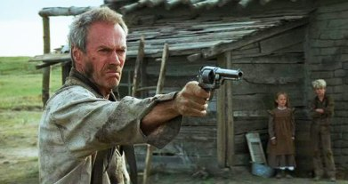 Clint Eastwood as William Munny in Unforgiven