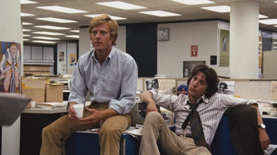 Robert Redford & Dustin Hoffman in All the President's Men