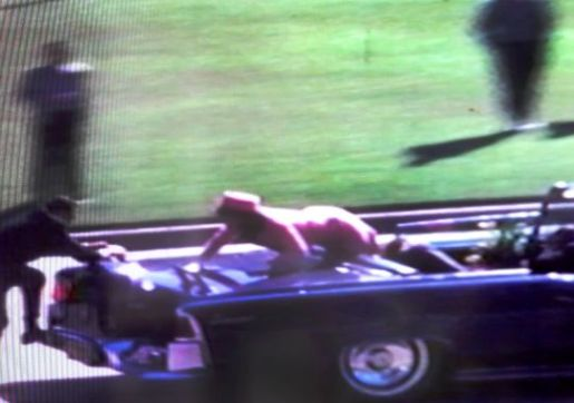 Frame of Zapruder's 8mm film (usatoday.com)