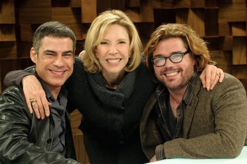Claudio Botelho, interviewer Marilia Gabriela & Charles Moeller (atelevisao.com)