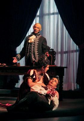 Scarpia, Tosca & Cavaradossi (San Diego Opera)