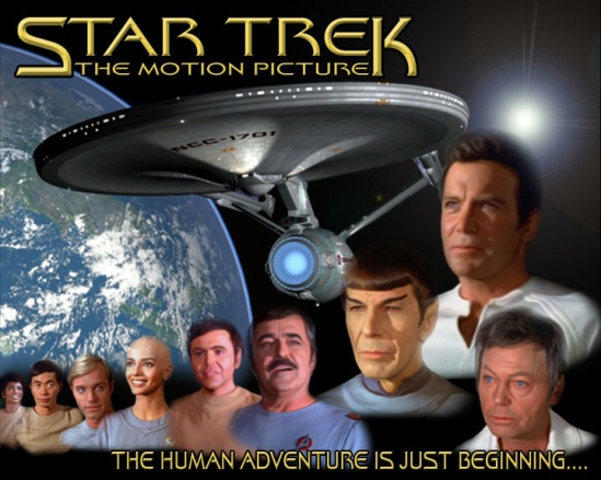 Star Trek - The Motion Picture (By artist Happy Russia (c) 2009-2014)