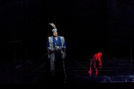 Torsten Kerl as the Emperor (Met Opera)