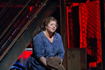 Christine Goerke as the Dyer's Wife Met Opera)