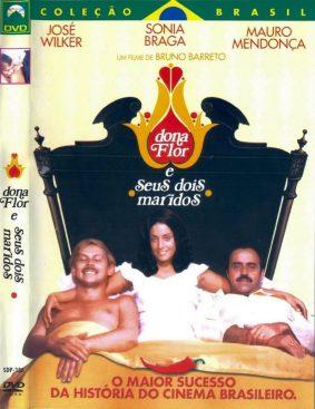 DVD cover of Dona Flor e seus dois maridos