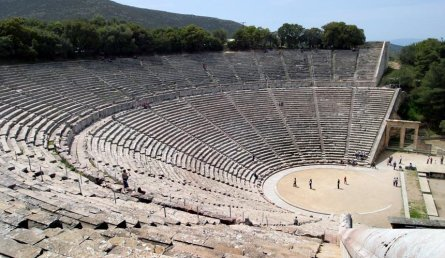 Ancient Greek Amphitheater