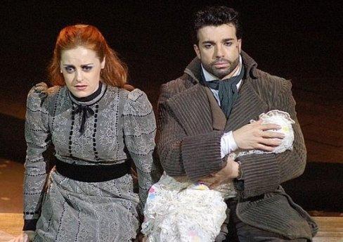 Amelia (Alessandra Maestrini) & Herculano (Jarbas Homem de Mello)