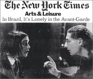 Daniela Thomas & Director Gerald Thomas (NY Times)