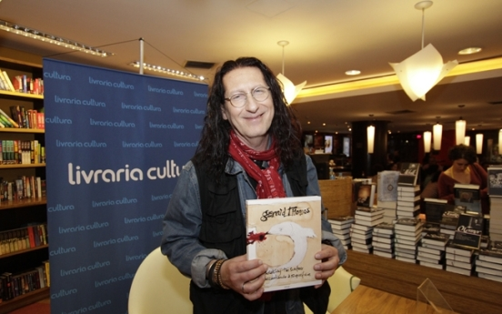 Gerald Thomas at Livraria Cultura