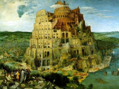 """The Tower of Babel"" - Pieter Bruegel the Elder (1563)"