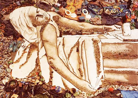 """Death of Marat"" - Waste Land"