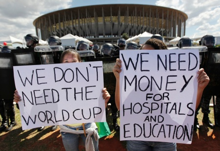 World Cup protesters (www.forbes.com)