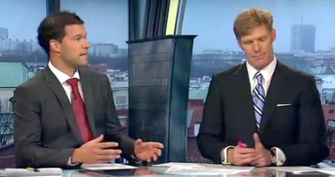 ESPN commentators Michael Ballack & Alexi Lalas