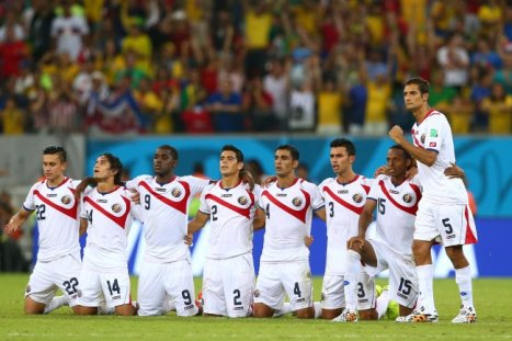 Costa Rica praying for a miracle