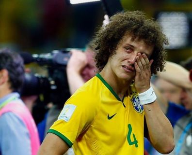 David Luiz after Brazil's 7-1 loss to Germany