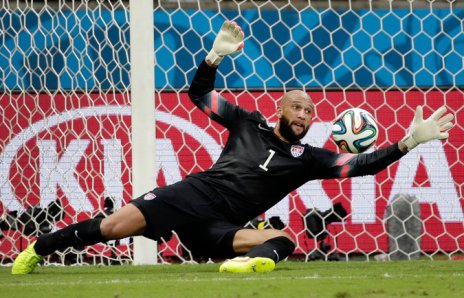 Team USA goalie Tim Howard saves another one (www.nytimes.com)