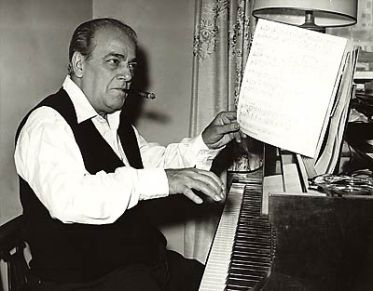 Villa-Lobos at the piano