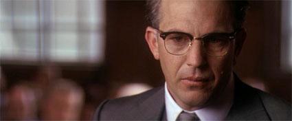 Kevin Costner as D.A. Jim Garrison in JFK