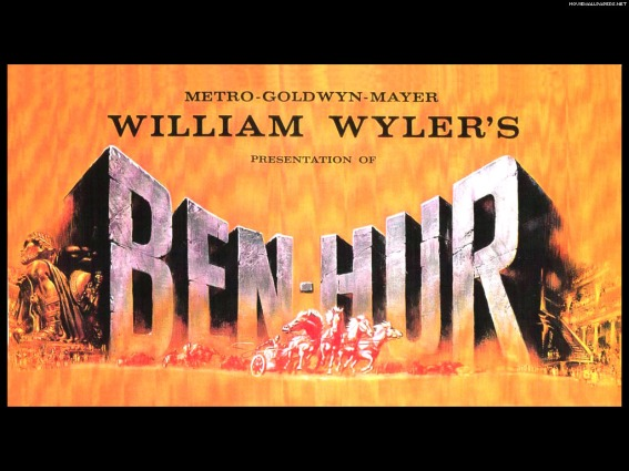 Post art for Ben-Hur (1959)