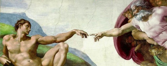 """Creation of Adam"" panel (Sistine Chapel)"