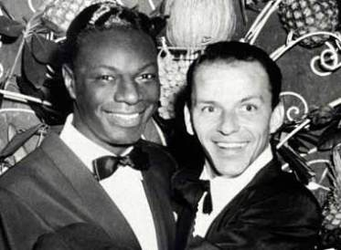 Nat King Cole and Ole Blue Eyes