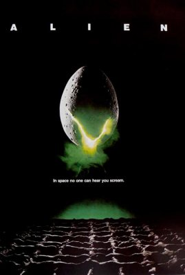 Alien logo and poster art