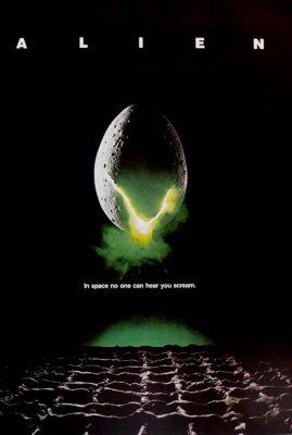 Alien logo and poster art