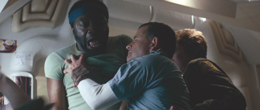 Ash (Ian Holm) attacks Parker (Yaphet Kotto)