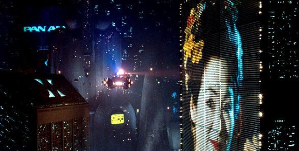 Blade Runner billboard