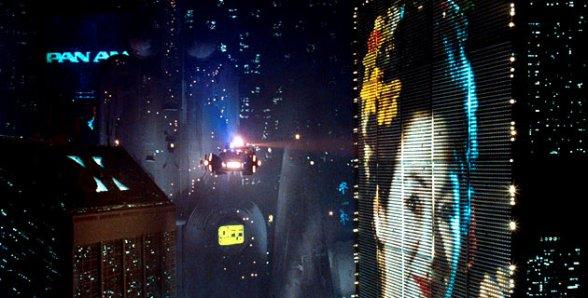 Blade Runner billboard