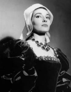 Maria Callas as Anna Bolena