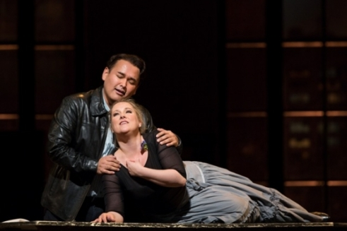Camarena & Damrau (Photo: Marty Sohl / Met Opera)