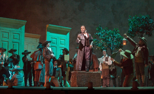 Lawrence Brownlee as Count Almaviva