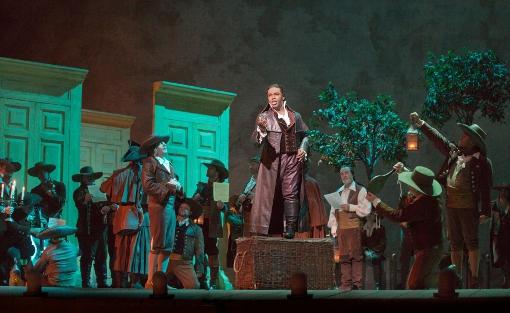 Lawrence Brownlee as Count Almaviva