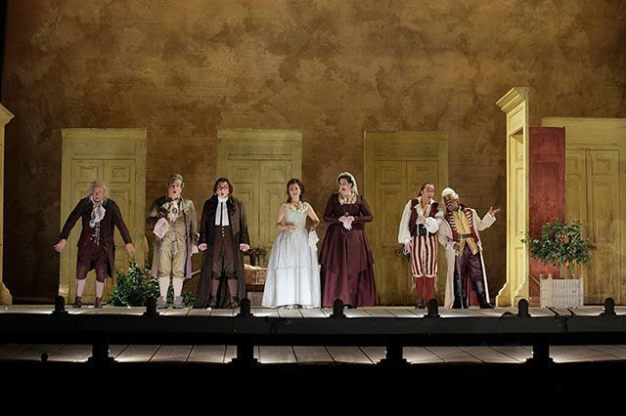 Act I ensemble of The Barber of Seville
