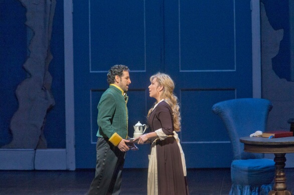 Don Ramiro (Juan Diego Florez) with Angelina (Joyce DiDonato)