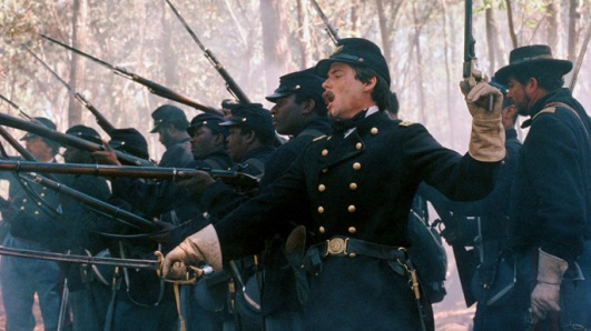 Matthew Broderick as Col. Robert Gould Shaw