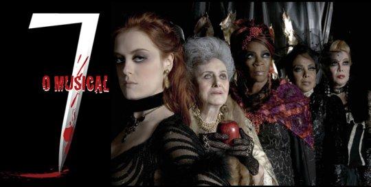 The original cast of 7 - The Musical