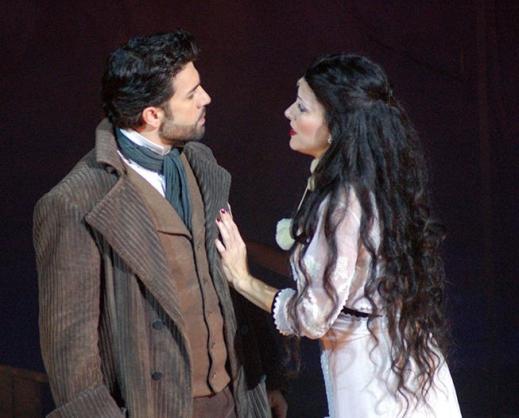 Herculano (Jarbas Homem de Mello) & Bianca (Alessandra Verney)