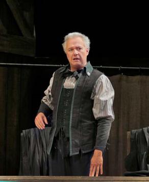 Johannes Martin Kranzle as Beckmesser