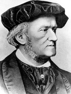 Richard Wagner in the 1860s