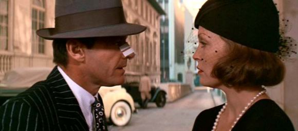 Jake (Jack Nicholson) and Evelyn (Faye Dunaway) in Chinatown