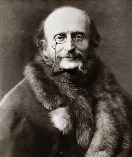 Jacques Offenbach ca. 1875 (Felix Nadar)