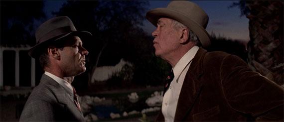 Gittes talking to Noah Cross (John Huston)