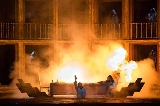 A fiery finish to Don Giovanni at the Met