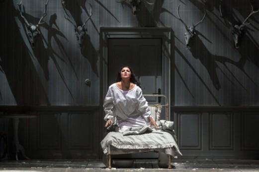 Iolanta (Anna Netrebko) in her room