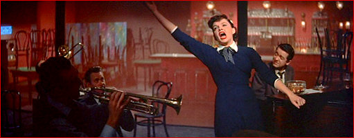 "Judy belts it out in ""The Man Who Got Away"""