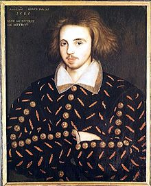 "Portrait of Christopher ""Kit"" Marlowe"