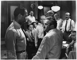 Henry Fonda & Lee J. Cobb wielding a switchblade